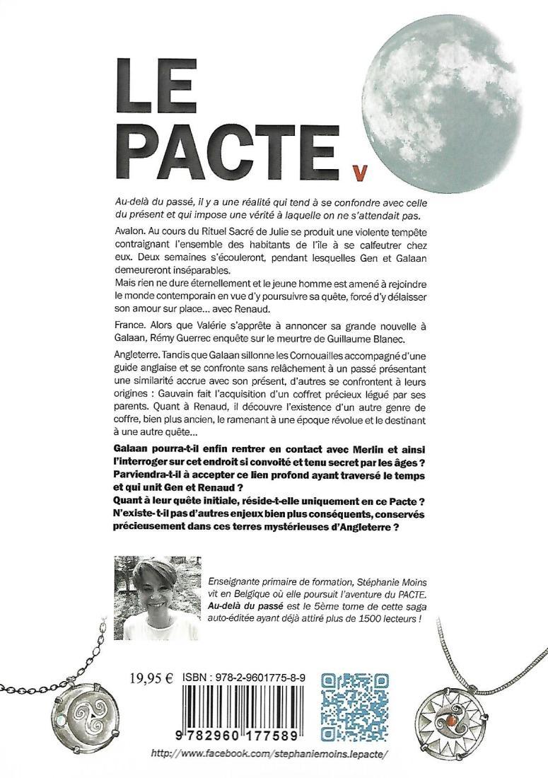 LE PACTE V - 4 ème de couverture
